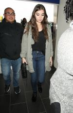 HAILEE STEINFELD at LAX Airport in Los Angeles 11/15/2016