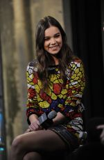 HAILEE STEINFELD at OAL Build in New York 11/17/2016