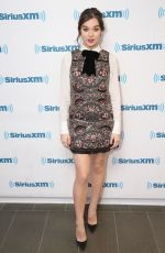 HAILEE STEINFELD at SiriusXM Studios in New York 11/16/2016