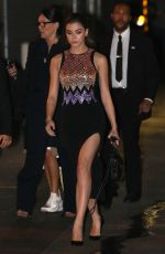 HAILEE STEINFELD Night Out in Hollywood 11/01/2016