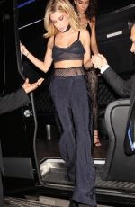 HAILEY BALDWIN Arrives at Kendall