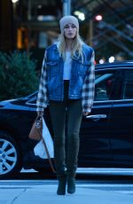 HAILEY BALDWIN Out and About in New York 11/08/2016