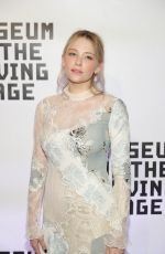 HALEY BENNETT at Museum of the Moving Image 30th Annual Salute in New York 11/02/2016