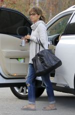 HALLE BERRY Out and About in Santa Monica 11/06/2016