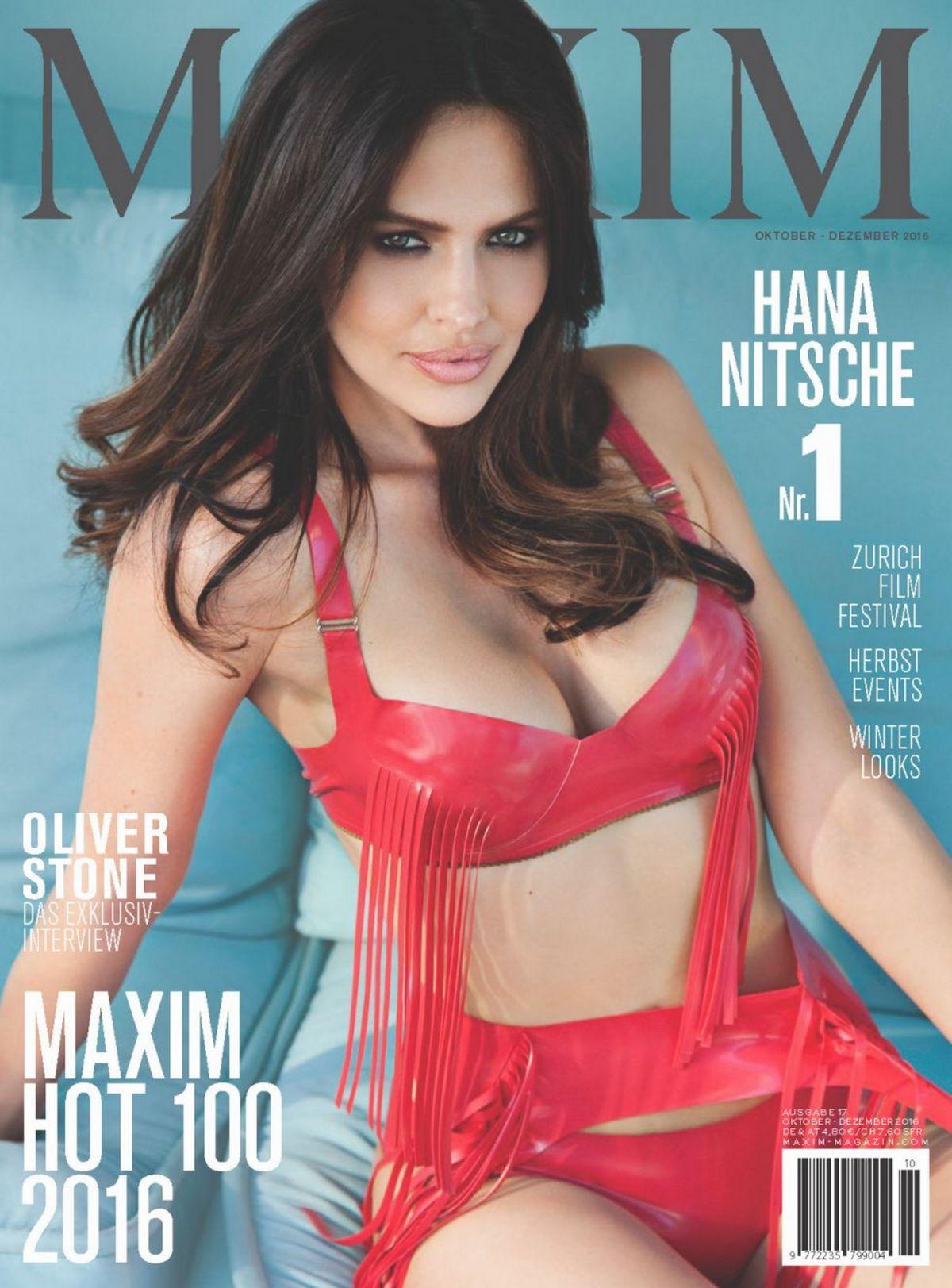 HANA NITSCHE in Maxim Magazine, Switzerland November 2016)