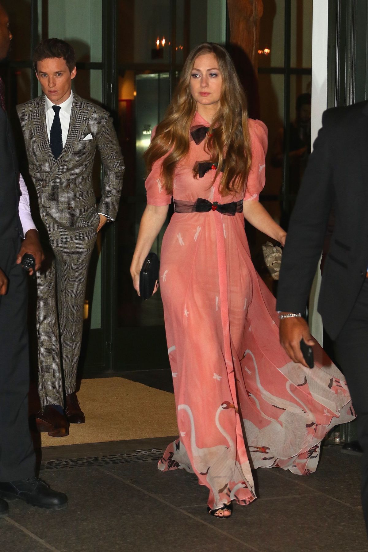 HANNAH BAGSHAWE Night Out in New York 11/10/2016