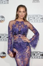 HANNAH DAVIS at 2016 American Music Awards at The Microsoft Theater in Los Angeles 11/20/2016