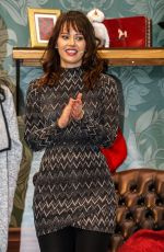 HAYLEY SPARKES at Ideal Homes Christmas Show at Olympia in London 11/23/2016