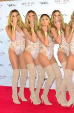 HEIDID KLUM Clones Herself at Her 17th Annual Halloween Bash in New York 10/31/2016