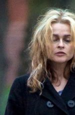 HELENA BONHAM CARTER Out and About in North London 11/23/2016