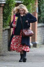 HELENA BONHAM CARTER Out Shopping in London 11/26/2016
