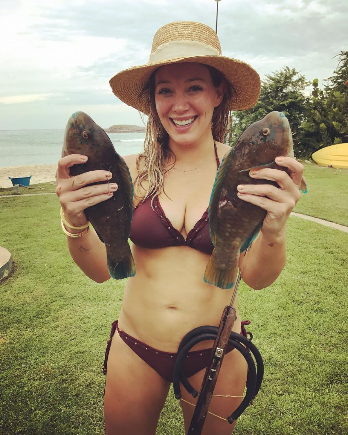 HILARY DUFF in Bikini, 11/12/2016 Instagram Picture