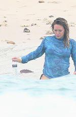 HILARY DUFF in Bikini on Vacation in Mexico 11/12/2016