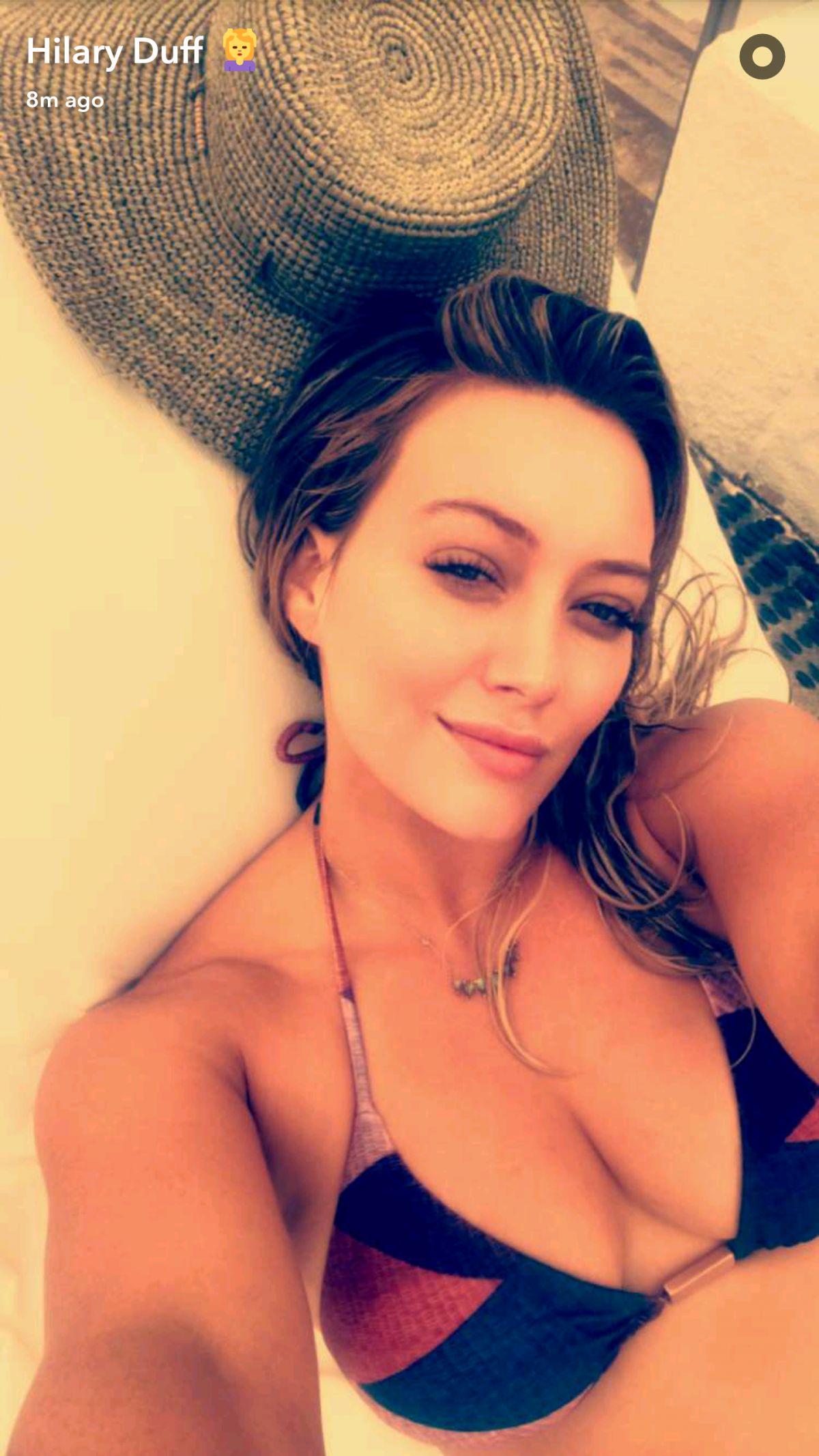 Ass Snapchat Hilary Duff naked photo 2017