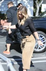 HILARY DUFF Leaves Fred Segal in West Hollywood 11/03/2016