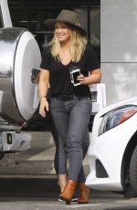 HILARY DUFF Out for Lunch in West Hollywood 11/15/2016