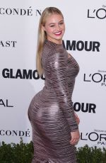 ISKRA LAWRENCE at Glamour Women of the Year 2016 in Los Angeles 11/14/2016