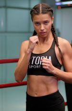ADRIANA LIMA at Victoria's Secret Hosts Train Like An Angel in New York 11/16/2016