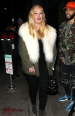 IGGY AZALEA at Catch LA in West Hollywood 11/26/2016
