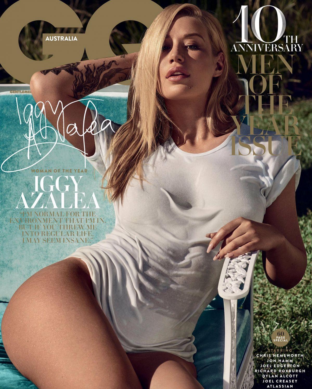 IGGY AZALEA in GQ Magazine, Australia December 2016 Issue