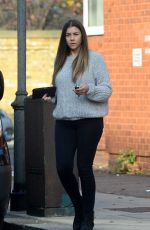 IMOGEN THOMAS Out and About in London 11/26/2016
