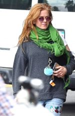 ISLA FISHER Out to Lunch in Los Angeles 11/01/2016