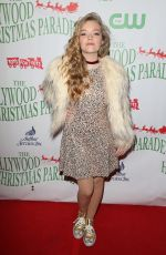 JADE PETTYJOHN at Hollywood Christmas Parade 11/27/2016