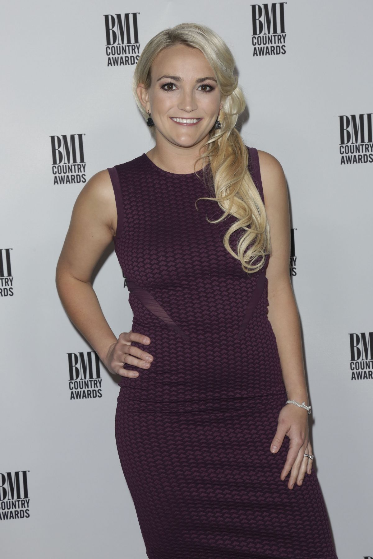 JAMIE LYNN SPEARS at 64th Annual BMI Country Awards in Nashville 11/01/2016