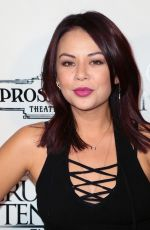 JANEL PARRISH at Cruel Intentions: The Musical Press Night in Los Angeles 11/18/2016