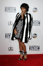 JANELLE MONAE at 2016 American Music Awards at The Microsoft Theater in Los Angeles 11/20/2016