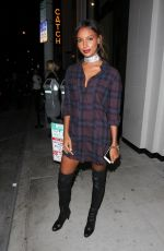 JASMINE TOOKES at Catch LA in West Hollywood 11/11/2016