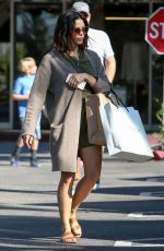 JENNA DEWAN Out Shopping on Black Friday in Bel-air 11/25/2016