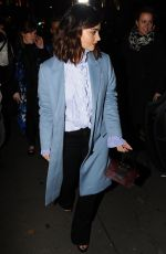 JENNA LOUISE COLEMAN at Burberry Celebrates 'The Tale of Thomas Burberry' in London 11/01/2016