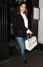 JENNA LOUISE COLEMAN Leaves David Beckham