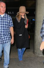 JENNIFER ANISTON at LAX Airport in Los Angeles 11/22/2016