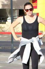 JENNIFER GARNER at Mornig Workout in Los Angeles 11/21/2016