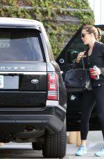 JENNIFER GARNER Heading to a Gym in Los Angeles 11/13/2016