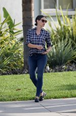 JENNIFER GARNER in Out and About in Los Angeles 11/07/2016