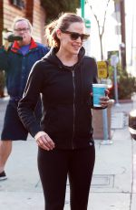 JENNIFER GARNER Out for Morning Coffee in Los Angeles 11/26/2016