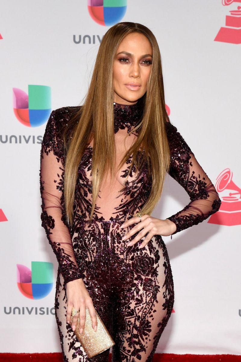 JENNIFER LOPEZ at 17th Annual Latin Grammy Awards in Las Vegas 11/17/2016