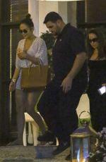 JENNIFER LOPEZ Leaves a Spa in Miami 11/28/2016