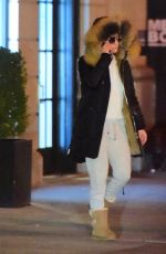 JENNIFER LOPEZ Leaves Her Apartment in New York 11/18/2016