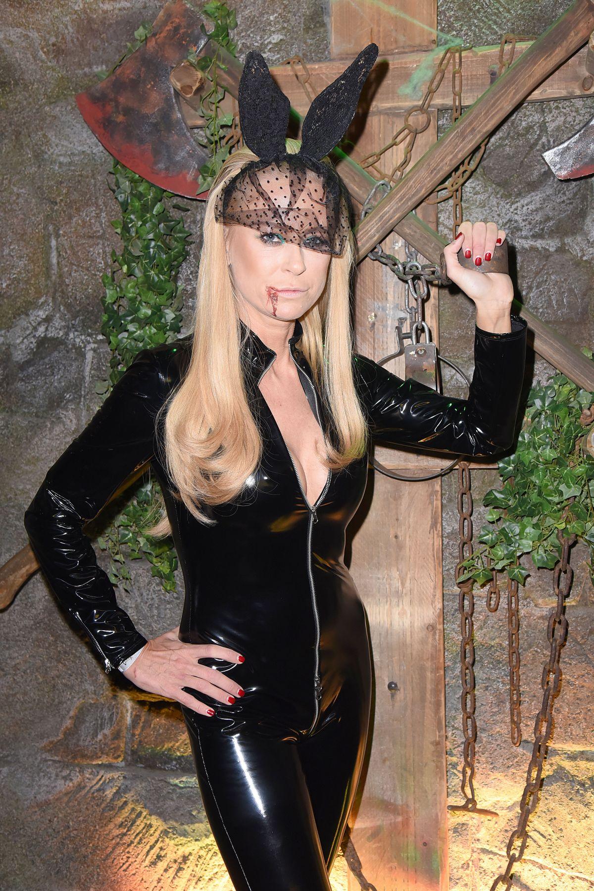 JENNY ELEVERS at Natascha Ochsenknecht Halloween Party at Berlin Dungeon 10/27/2016