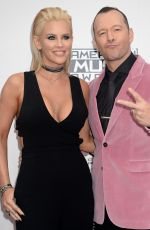 JENNY MCCARTHY at 2016 American Music Awards at The Microsoft Theater in Los Angeles 11/20/2016