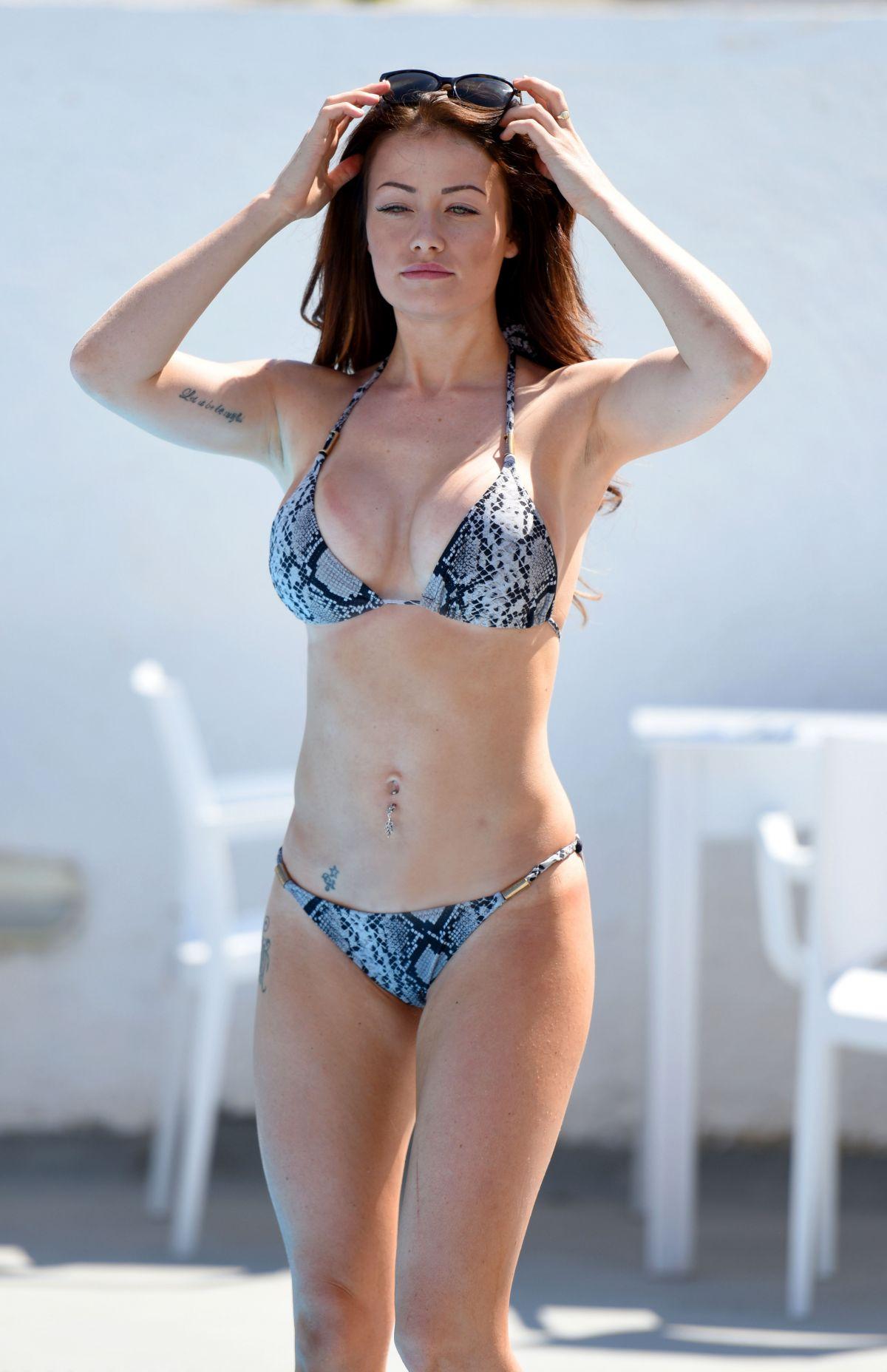 JESS IMPIAZZI in Bikini at a Pool in Melbourne 09/12/2016