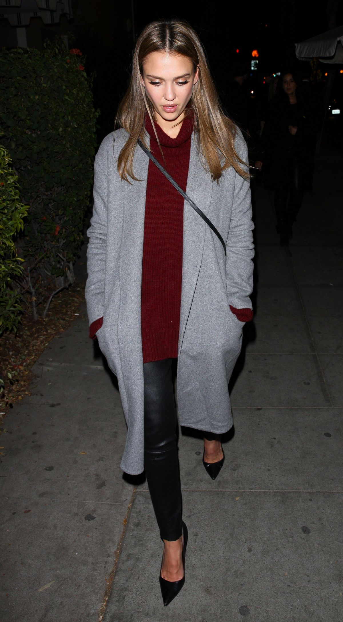 JESSICA ALBA at Delilah Club in West Hollywood 11/18/2016