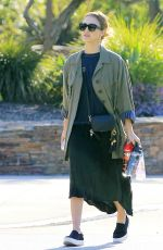 JESSICA ALBA Out at a Park in Los Angeles 11/25/2016
