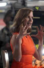 JESSICA CHASTAIN at Today Show in New York 11/25/2016