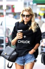 JESSICA HART Out and About in Sydney 11/08/2016