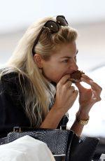 JESSICA HART Out for Breakfast at Cali Press Juice Bar in Bondi Beach 11/09/2016